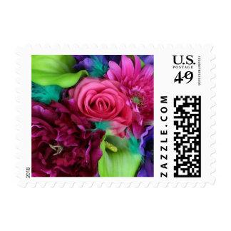 Rose Calla Peony Daisy Anemone Postage Stamps