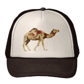 Rose Camel  Lid Trucker Hat