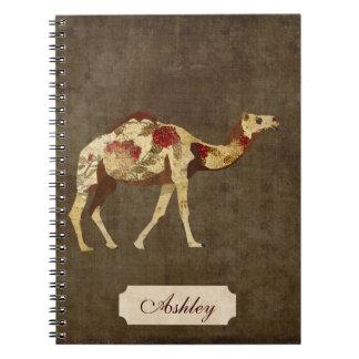 Rose Camel Notebook