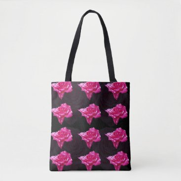 NaturalCauses Rose Candy, Full Print Shopping Bag