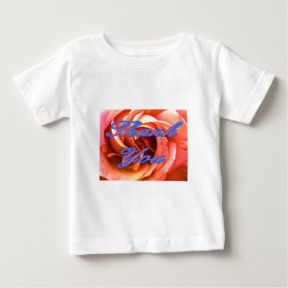 Rose Canterbury 4 Thank You 1 The MUSEUM Zazzle Gi Baby T-Shirt