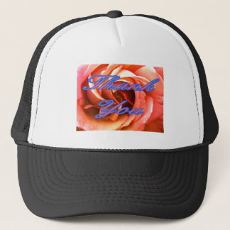Rose Canterbury 4 Thank You 1 The MUSEUM Zazzle Gi Trucker Hat
