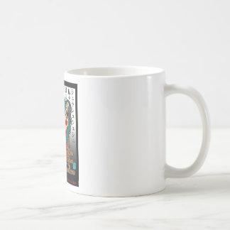 Rose chain classic white coffee mug