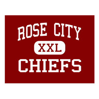 Rose City - Chiefs - Middle - North Little Rock Postcard