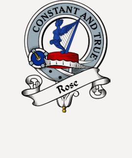 Rose Clan Badge T Shirts