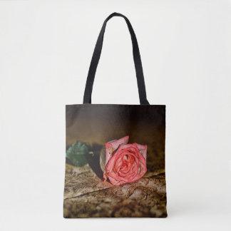 Rose Close-Up bags Tote Bag