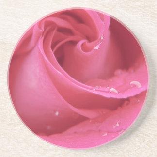 Rose Close Up Drink Coaster