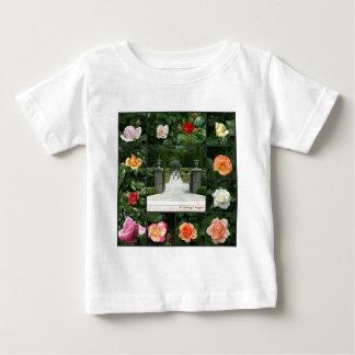 Rose collage baby T-Shirt