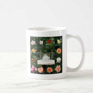 Rose collage coffee mug