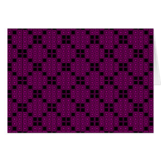 Rose Color Tiles Card