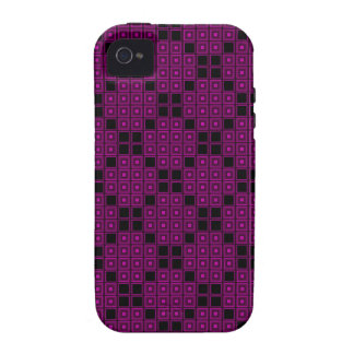 Rose Color Tiles Vibe iPhone 4 Covers
