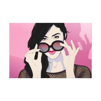 Rose-Colored Glasses Canvas Print