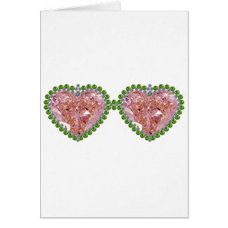 Rose Colored Glasses Card