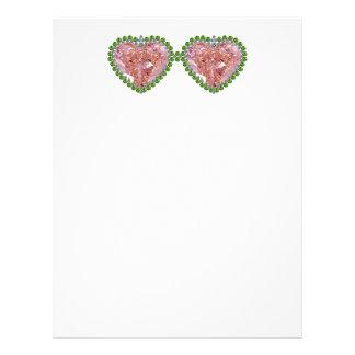 Rose Colored Glasses Letterhead