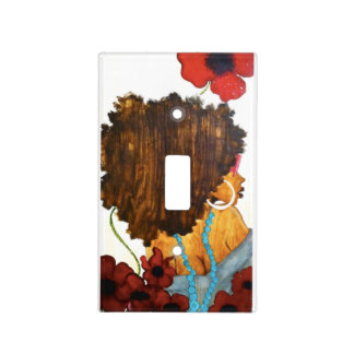ROSE COLORED GLASSES Light Switch Cover