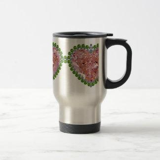 Rose Colored Glasses Travel Mug