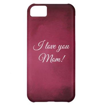 Rose colored iPhone case