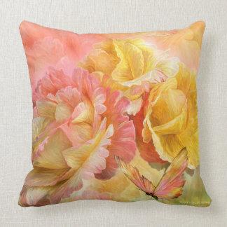 Rose - Colors Of Spring Art Designer Pillow