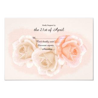Rose Confection RSVP Card