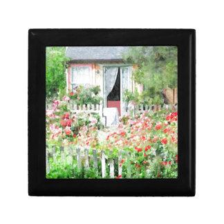 Rose Cottage Keepsake Box
