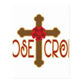 Rose Croix Postcard