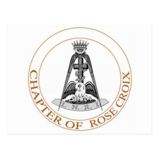 Rose Croix Scottish Rite Postcard