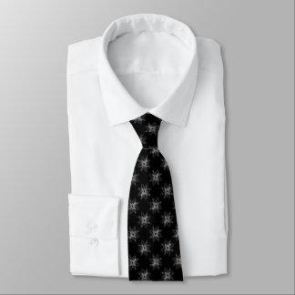 Rose Cross Goth Art Neck Tie