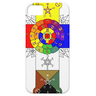 Rose Cross Lamen iPhone Case