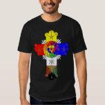 Rose Cross Lamen T-Shirt