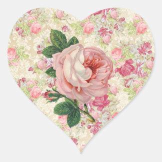 Rose Damask Sticker