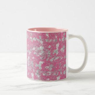 Rose Dance Abstract Two-Tone Coffee Mug