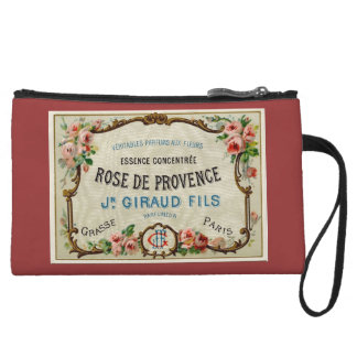 Rose de Provance a French Perfume Wristlet Purses