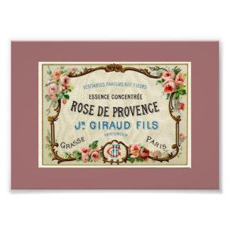 Rose de Provance un perfume francés Fotografias