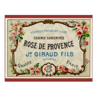Rose de Provance un perfume francés Postal