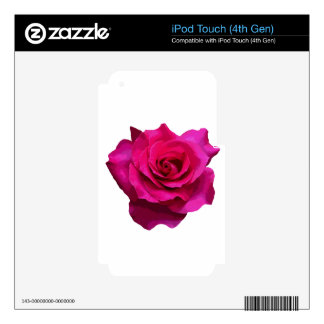 Rose Decal For iPod Touch 4G