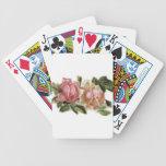 Rose Design Bicycle Card Decks