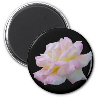 Rose digital drawing 2 inch round magnet