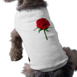Rose Dog T Shirt