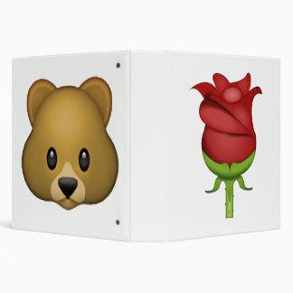 Rose  Download - Emoji 3 Ring Binder