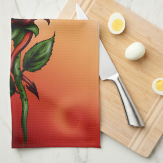 Rose Dragon Kitchen Towels