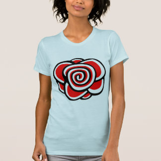 Rose Drawing - Customized T Shirts