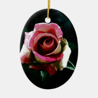 rose drawing ornament