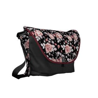 Rose elegance Rickshaw Messenger Bag
