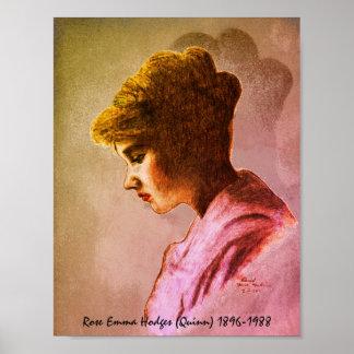 Rose Emma Hodges Quinn poster