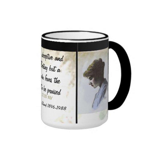 ROSE EMMA HODGES QUINN scripture Mug
