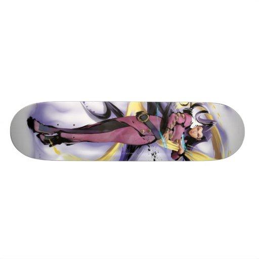 Rose Energy Skateboard Deck