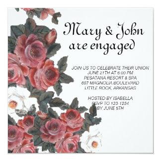 ROSE  engagement Card