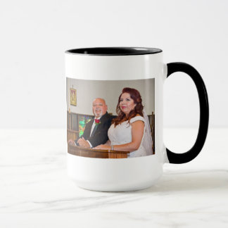 Rose & Enrique's Wedding Mug