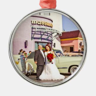 Rose & Enrique's Wedding Ornament