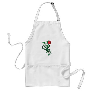 ROSE ENTWINED ADULT APRON